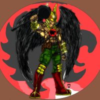Hawkman by LORDNEPHALIM