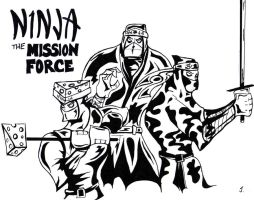 Ninja: The Mission Force by JeremyHovan81