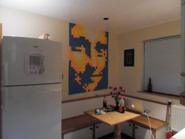 Mona Lisa Post It Notes by Physiqs