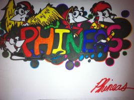 Phineas Name Tag by PhintasticParu