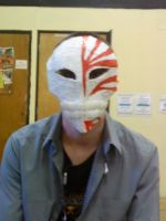 Hichigo Mask - Matt Wearing It by High-on-E-numbers
