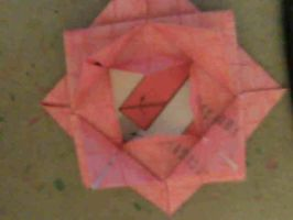 Origami Lotus Blossom by orcakat4