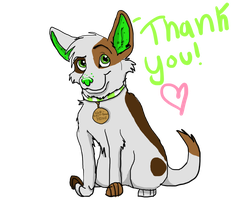 Roxie: Thank you for adopting me by Wolf-spirit-bound