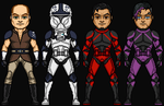 Jedi and Clone Troopers 4 by HenshinDaisuke