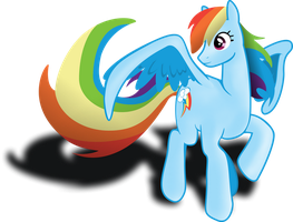 Rainbow Dash by LOCKHE4RT