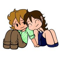.:Rosie and Isaac:. by bleuberry109