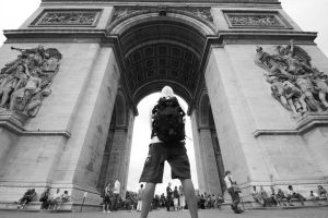 "Arc De ""Triomphe"" by lucat25"