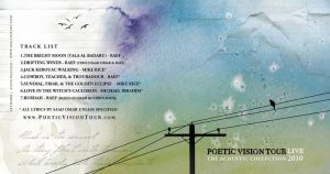 Poetic Vision Tour Album Cover by whisperedpeace