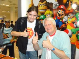 Charles Martinet and I by JardimStudios