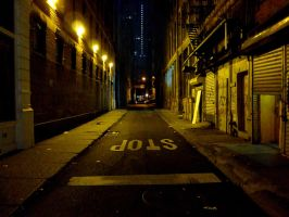 Alley in NYC by nuggetams