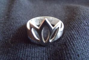 My first silver ring by DoctorShaman