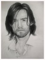 Hugh Jackman's Portrait by TTido