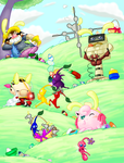 Easter Hunt: The Spring Meadow by Oddballs-Of-Smash