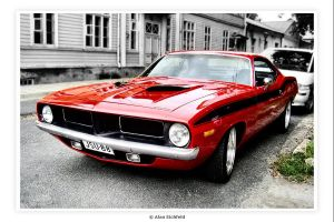 Plymouth Hemi Cuda by Alan-Eichfeld