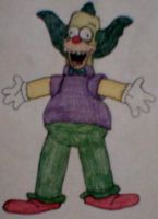 Krusty The Clown by MollyKetty