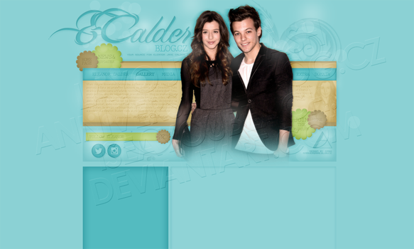 Layout: Eleanor Calder by iseayoubeach