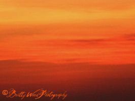 God Painted Fire in the Sky by Viarae