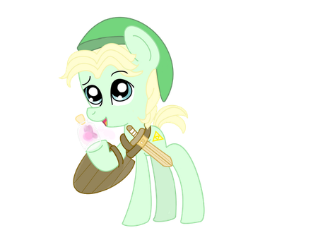 Mlp fim Little Link by MlpFimColordrop