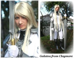 Galatea from Claymore by IasonMink