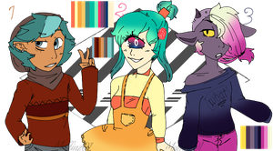 (OPEN)Adoptables 1 by Muffinz01