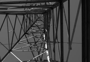 Tower 3619 Filter BW by JeffPrice