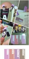 bleach - paper magnet bookmark 1 by pandabaka