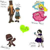 Contest Entry - Favorite Game Characters by WeirdLittleZombie