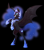 Nightmare Moon! by TrippinMars