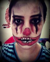 Creepy Clown .. by magentaluv