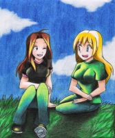 Megan and Kylee by Dreamgirl2007
