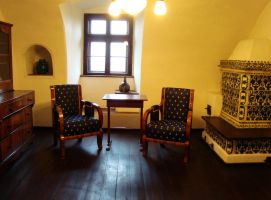 Old castle room- stock by Mango84