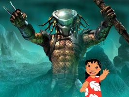 Predator Meets Lilo by Mommy-of-Ein