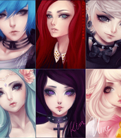 Display Picture dump (they blink) by Po-ru