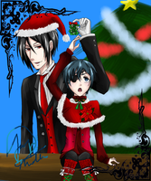 BB: Merry Christmas 2011 by xbluephantomx