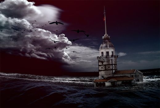 Maiden's Tower by kadox