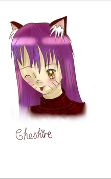 Cheshire by RedScarfLuxio