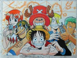 One piece~ :D by SaM-bluefunnybear