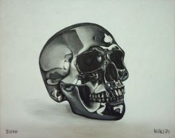 Chrome Skull by kiki71