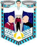 Star Trek: Tapestry T-Shirt Design by Wolfram-And-Hart
