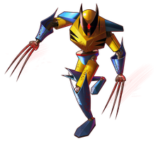 Mecha Wolverine by solartistic