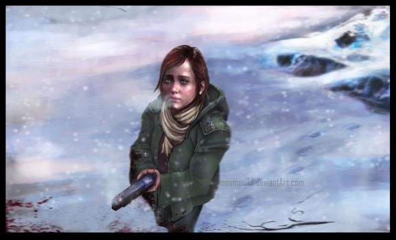 The Last of Us : Ellie by Moumou38