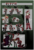 Squeaky Pitch Reference Sheet! by Pimander1446