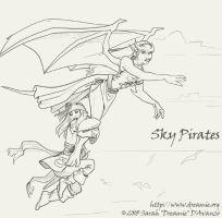 Sky Pirates by dreamie