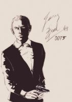 Skyfall James Bond by Blip-NYA