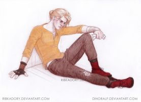 Newt Collab(RibkaDory's line,my coloring) by Dinoralp