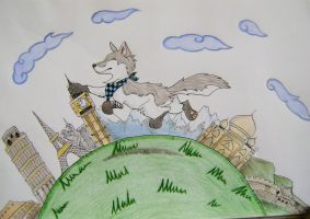 Around The World - Contest by HowlingWolfSong