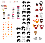 HomeStuck Character Sprite Sheet by AlmightySponge