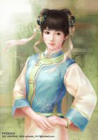 maid in Qing Dynasty by phoenixlu