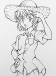 The Kurta in the Straw Hat (line art) by Highway3