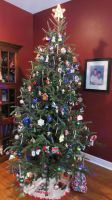 Our Christmas Tree for 2014 by nintendomaximus